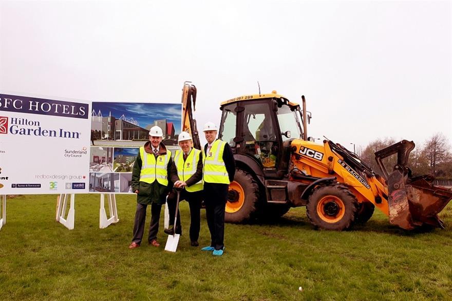 Work starts on Sunderland's Stadium Park Hilton Hotel
