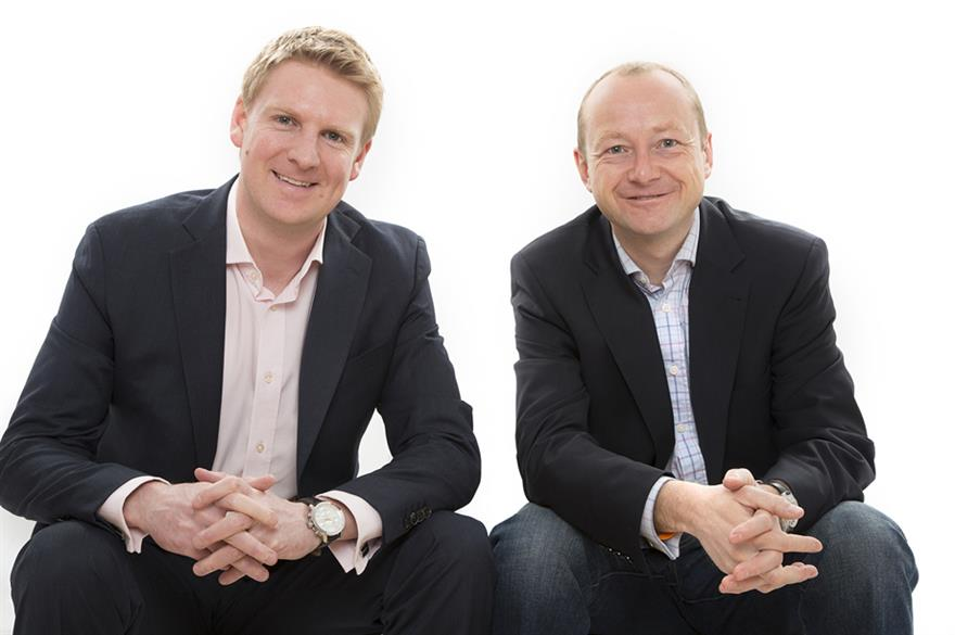 Simon Burleigh and James Dowson of DMC Advantage