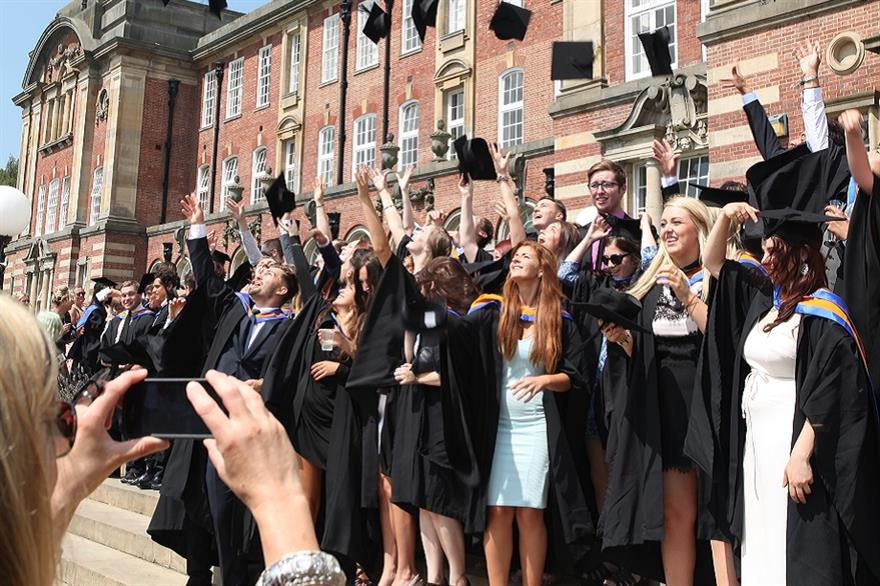 Graduates at Leeds Beckett University
