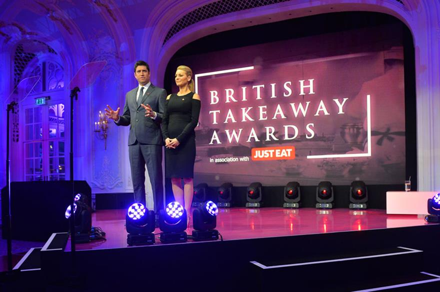 Blueprint worked on The British Takeaway Awards with Just Eat