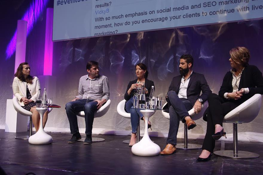 A panel at Event360