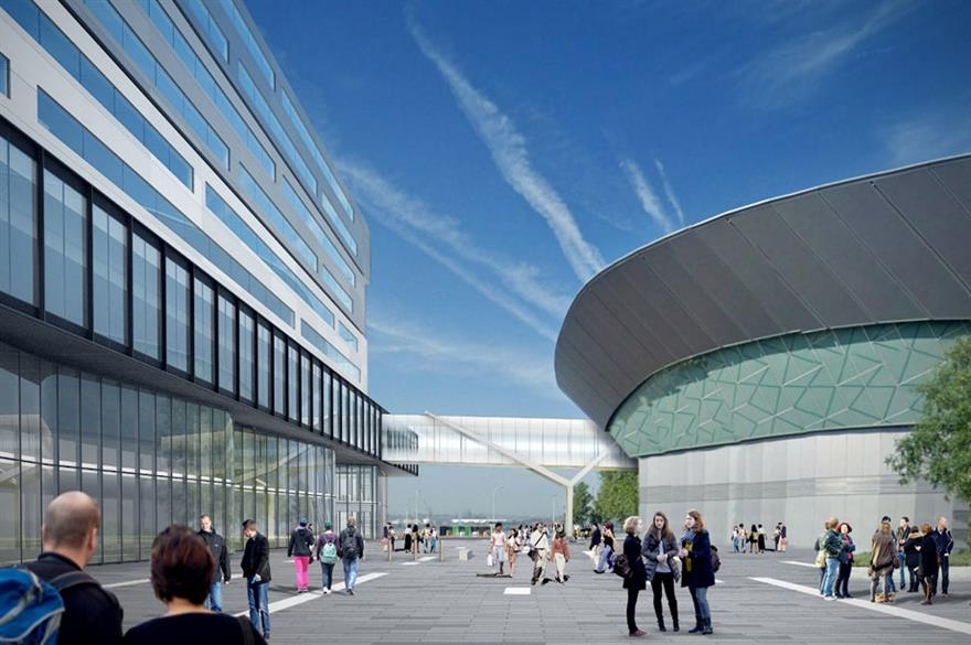 Work gets underway for the ACC's £40m Exhibition Centre Liverpool