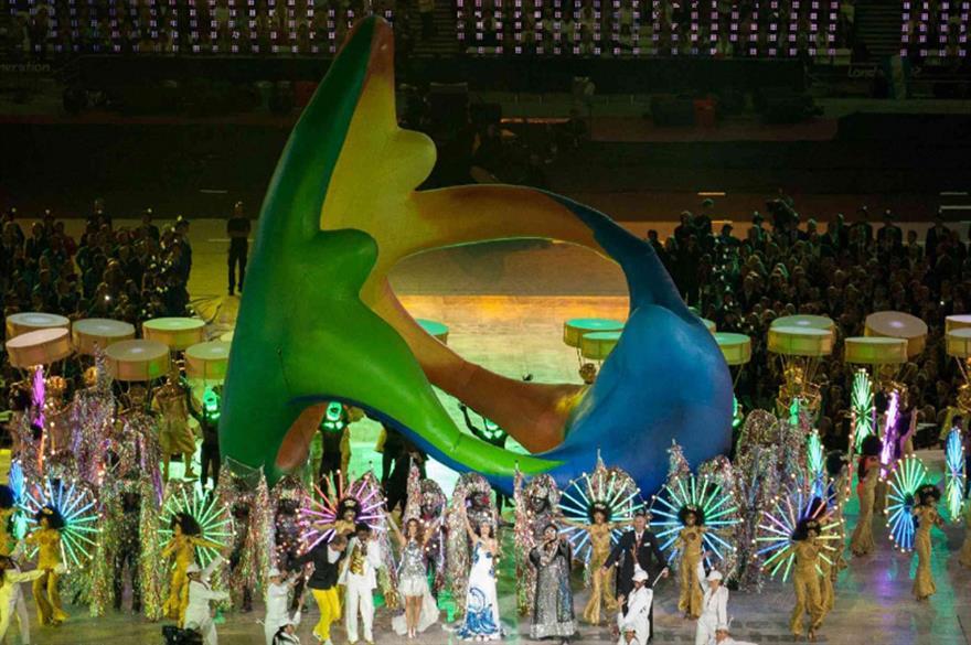 Filmmaster organised the London 2012 Flag Handover Ceremony