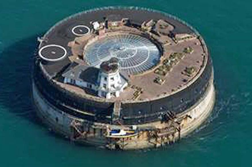 Solent man-made island to open for events