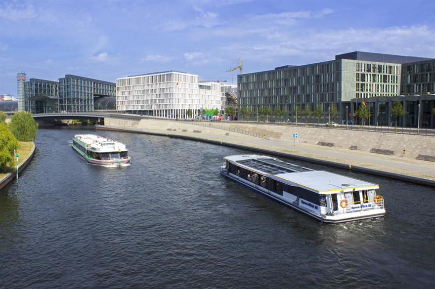Hauptbahnhof in Germany