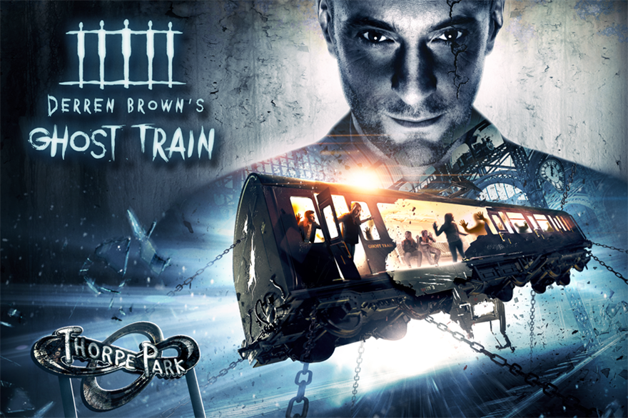 Thorpe Park has launched Derren Brown corporate packages