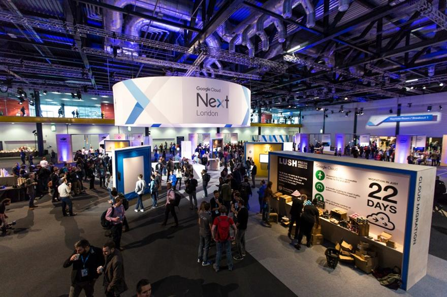 Google Cloud Next: UK and European events