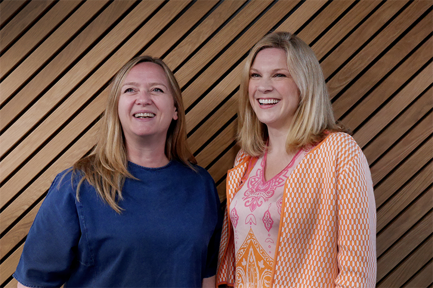 Trudy Hardingham (l) and Elle Shoben have joined GPJ's senior leadership team