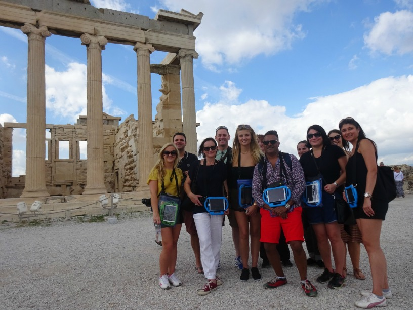 Interactive visit to the Acropolis