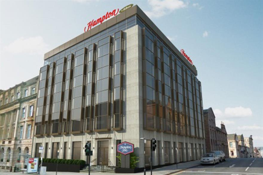Hampton by Hilton to open Glasgow hotel