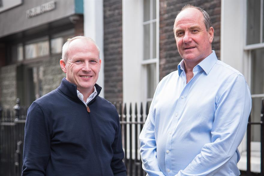 (L-R) Simon Hambley and Ewan Hurford-Jones