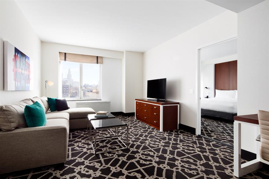 Room at the Hilton Brooklyn
