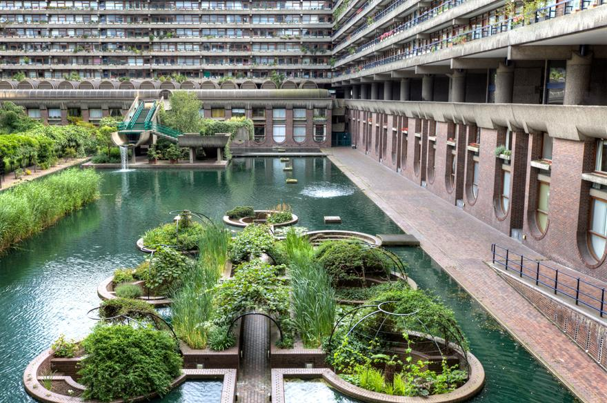 The Barbican pond. Image: iStock