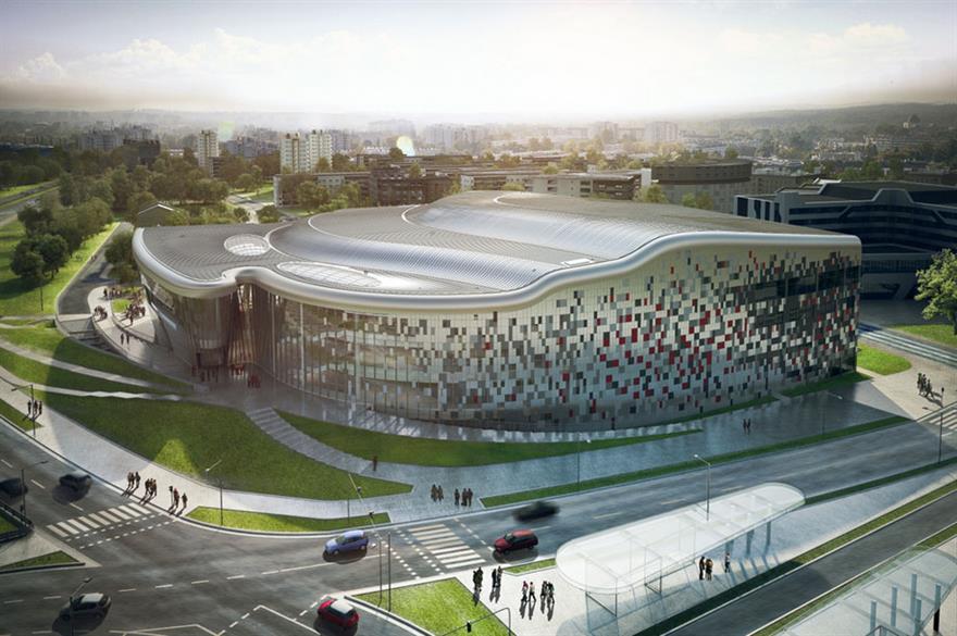 Ice Krakow Congress Centre (©Ingarden & Ewý)