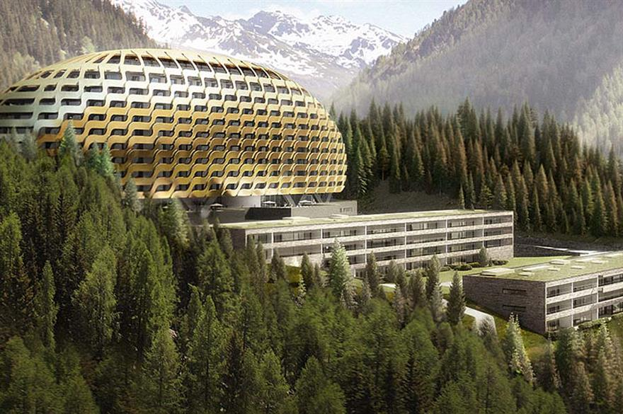 Intercontinental Hotels Group opens in Davos
