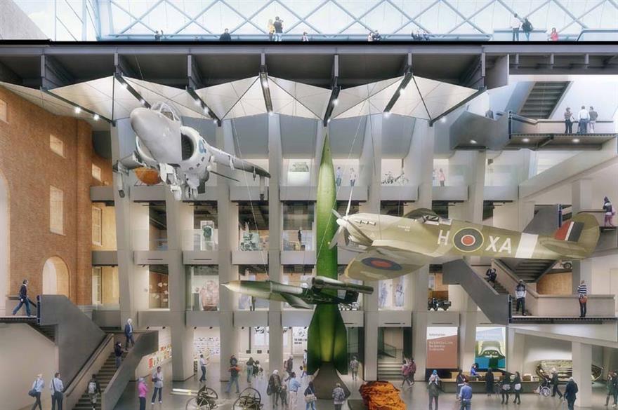 Imperial War Museum open for corporate events despite closure