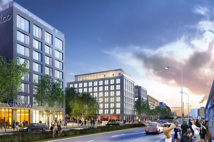 IHG to open Hotel Indigo outside Berlin's Mercedes-Benz Arena