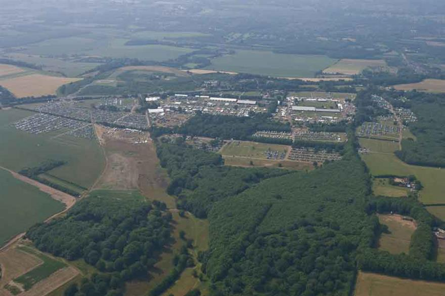 Kent Event Centre reveals £150k campsite development