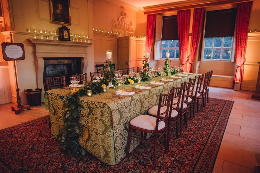 Dining Room at Kew Palace