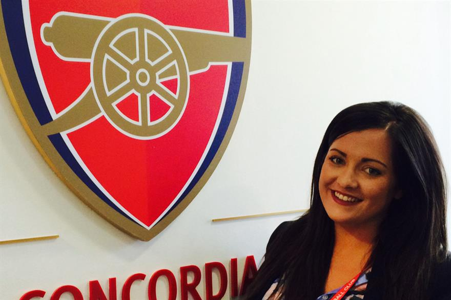 Kristina Embleton joins Arsenal Meetings and Events