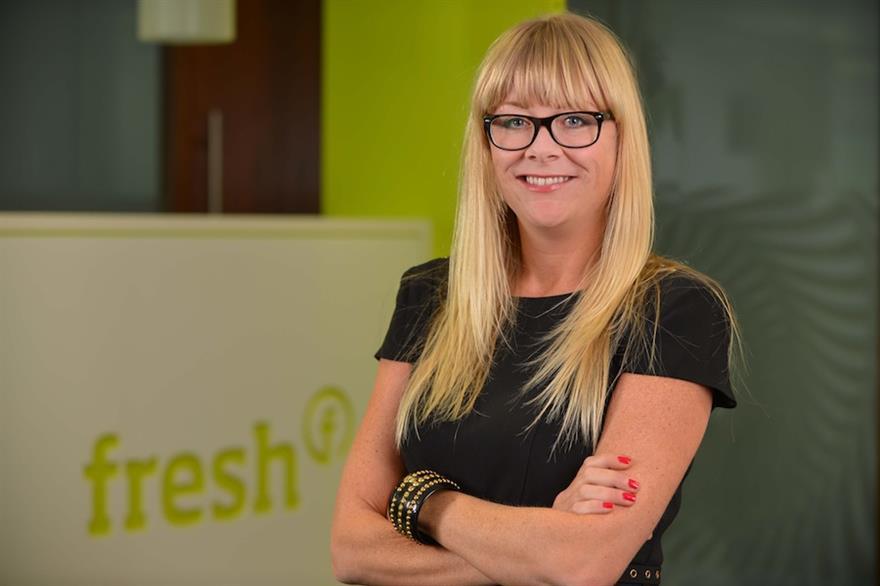 Fresh Group account director Laura Taylor