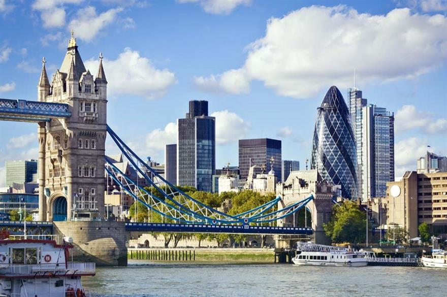 London named top destination for culture