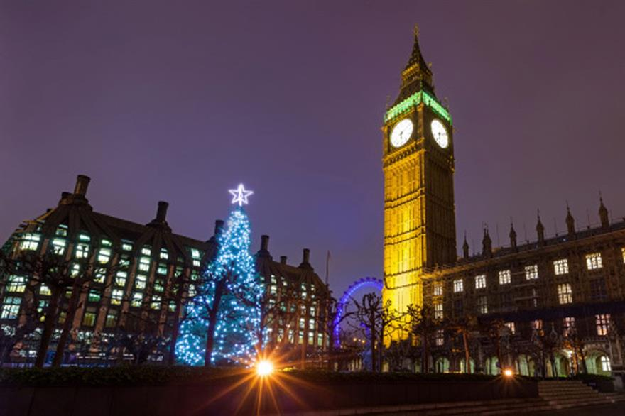 Christmas Parties on the rise across London in 2013