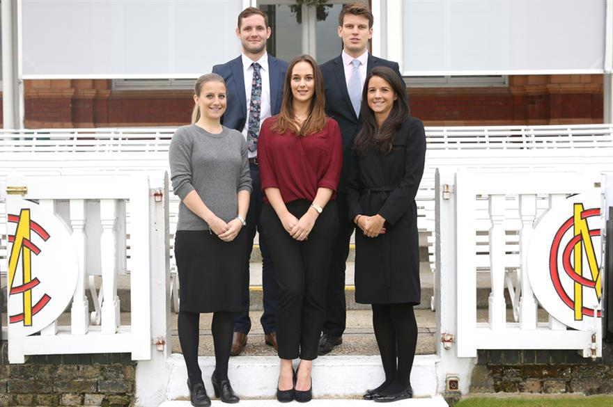 Lord's has strengthened its hospitality and events teams with five new appointments