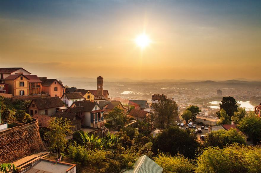 Antananarivo, the capital of Madagascar (Image @istock.com)
