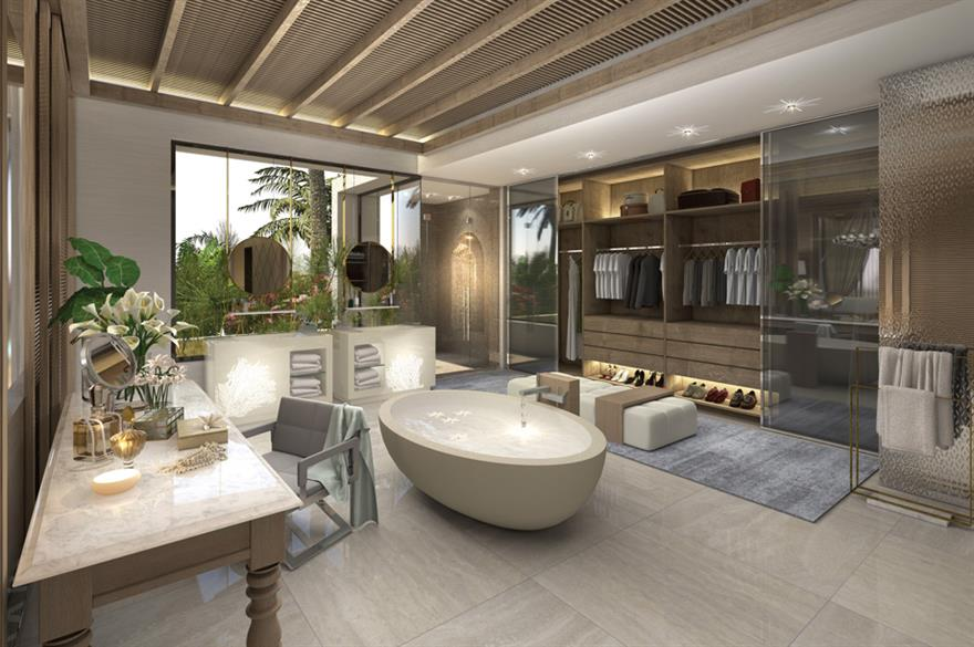 Bathroom at the Jumeirah Al Naseem