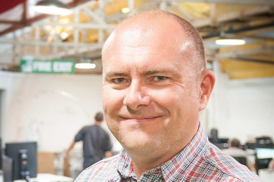 Mark Nicholls, new creative director at drp