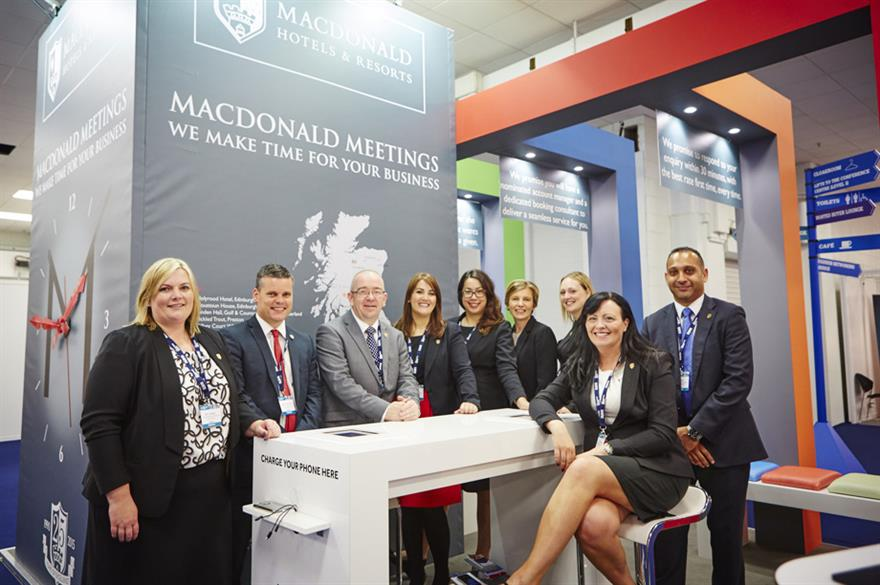 The Meeting Show 2015 at Olympia, London