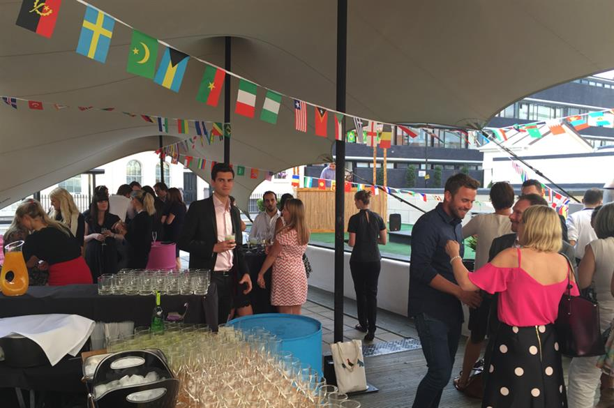 In Pictures: Melia Hotels Olympic Summer BBQ