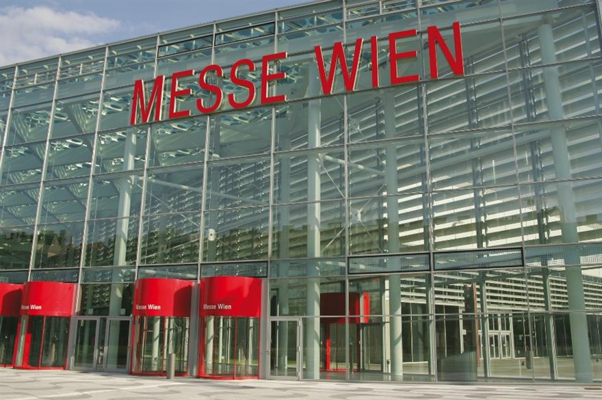 Messe Wien: venue for snack conference