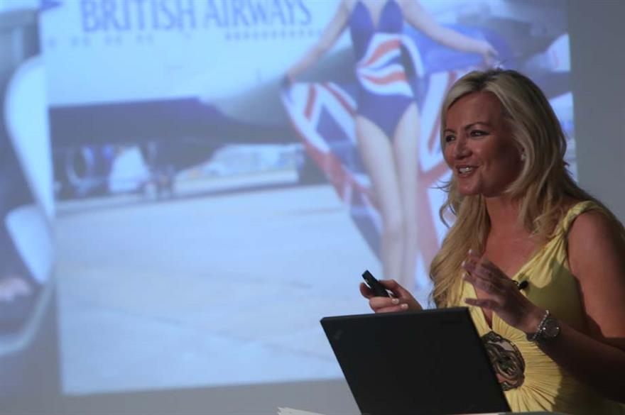 Michelle Mone of Ultimo spoke to corporate event planners at IMEX