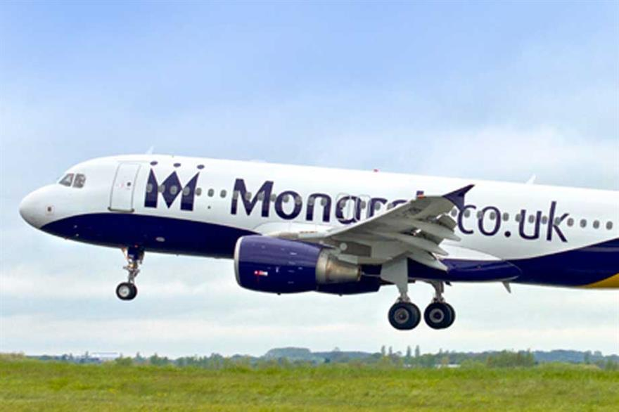 Monarch airlines launches ten new routes