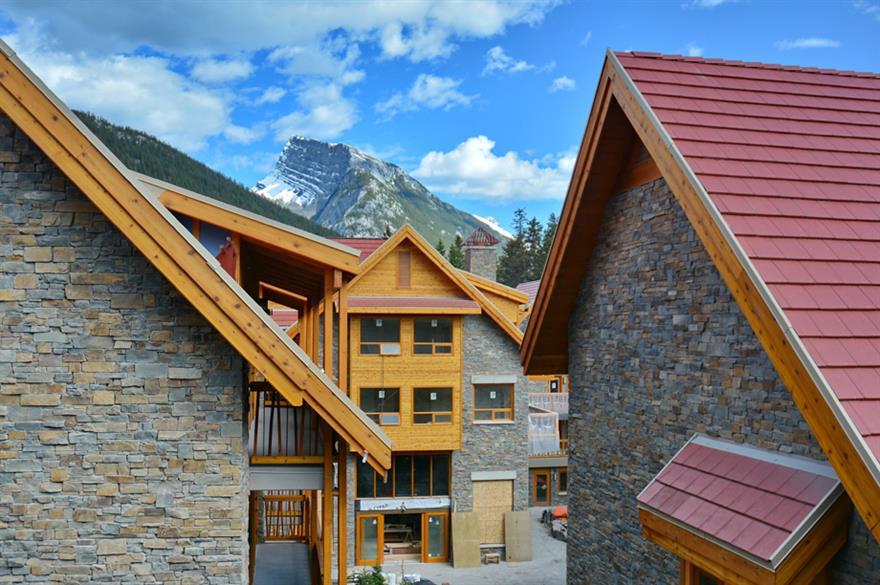 The Moose Hotel & Suites in Alberta, Canada