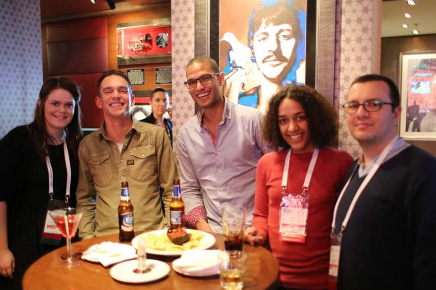 EMEC 2014's Rendezous night took place at the Hard Rock Cafe Istanbul