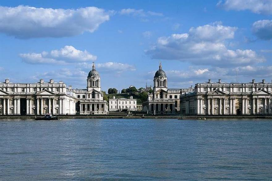 Ampersand bags £16m contract at Old Royal Naval College