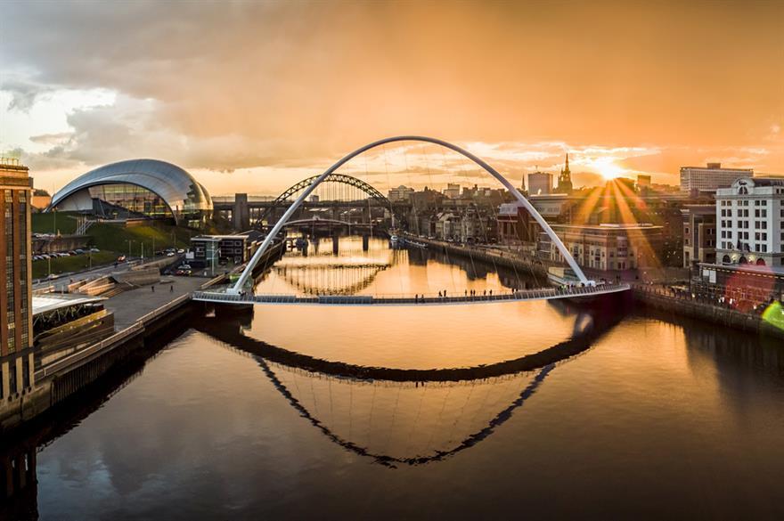 Newcastle (Credit: Visit England)