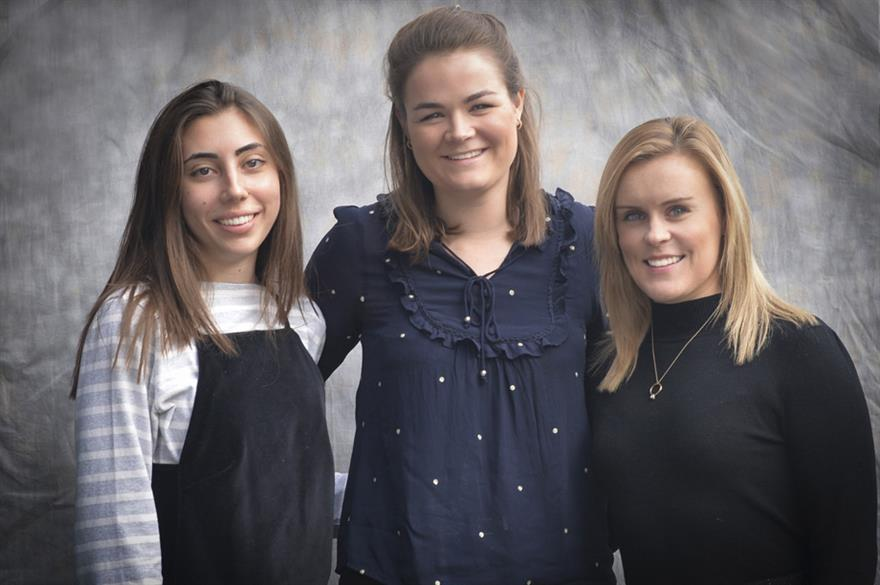 Anna, Danielle and Emma