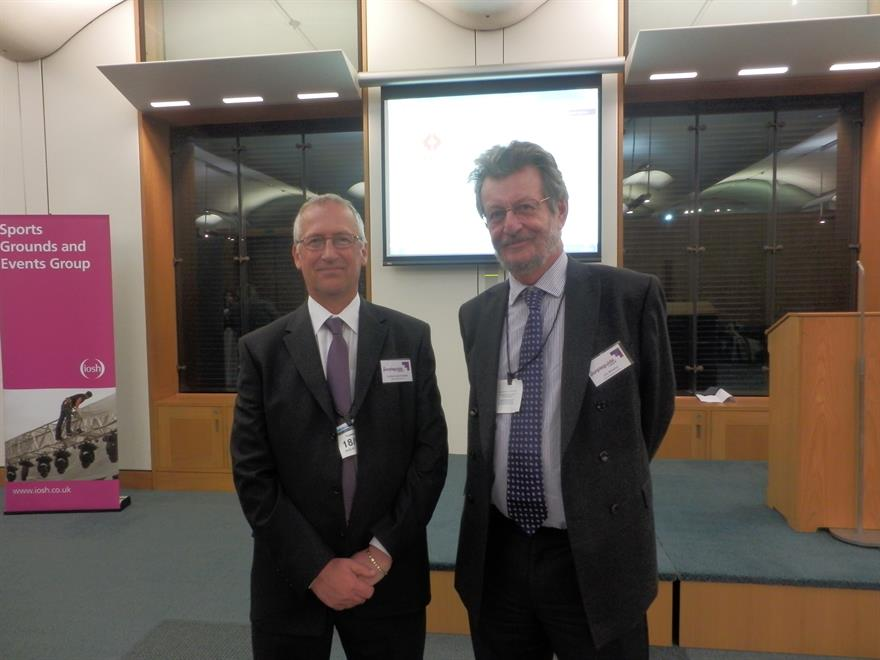 EIF chairman Graham Lake-Grange and secretary Jim Winship at last night's launch