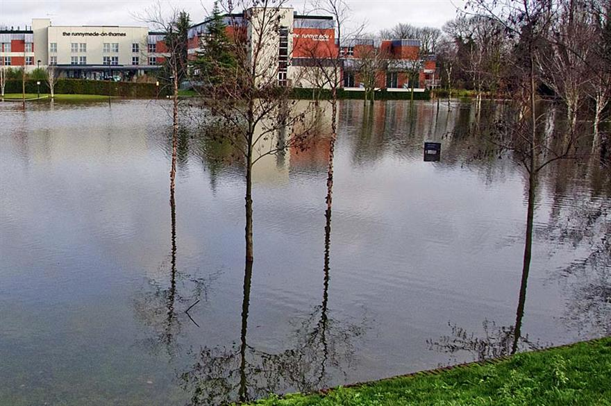 Runnymede-on-Thames hotel remains closed due to flooding