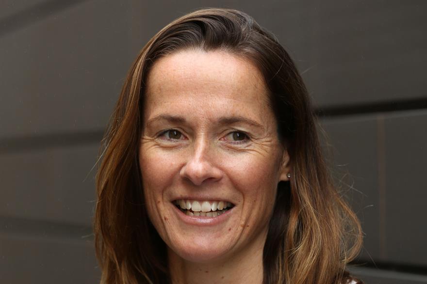 New MD Sarah Esslemont.
