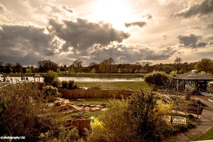 The Safari Lodge at Woburn Safari Park in Bedfordshire