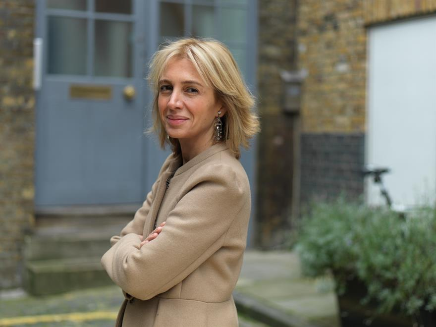 Sahar Hashemi, entrepreneur and co-founder of Coffee Republic, spoke at SES
