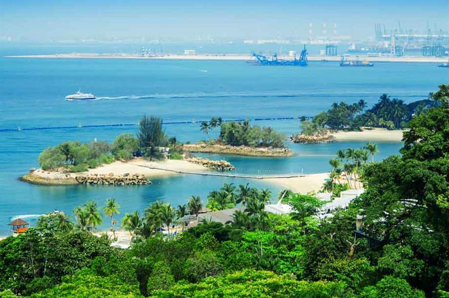 Singapore's Sentosa Island