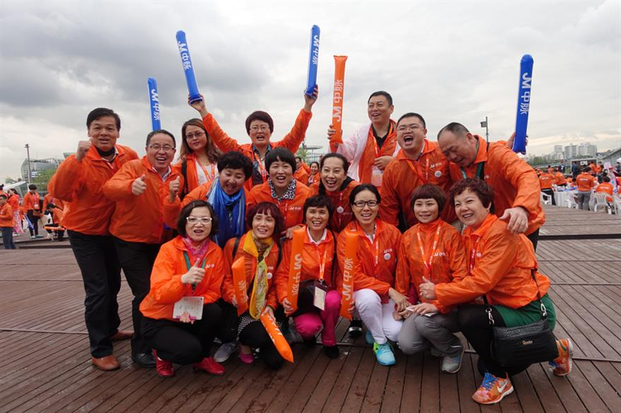 Delegates from Joy Main Science & Technology on the Seoul incentive