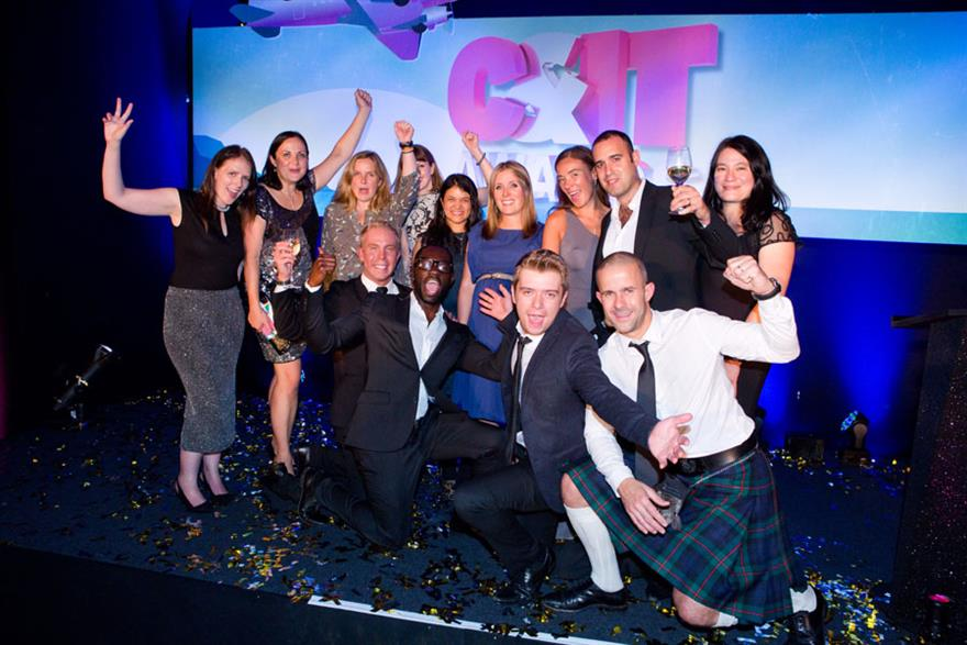 Team C&IT at the C&IT Awards 2014