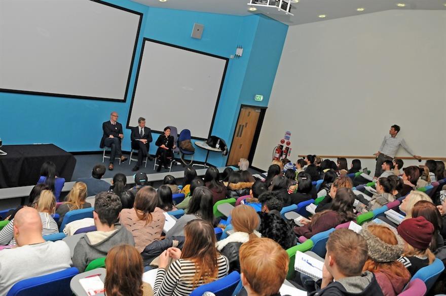 Waddington, Kershaw and Wilson lead seminar at Sheffield Hallam University